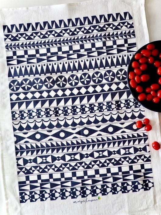 Chios tea towel