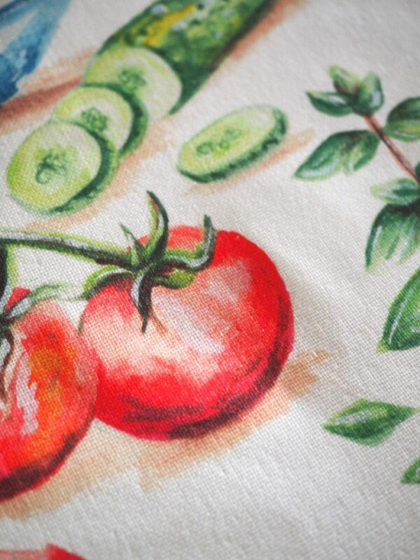 Greek Salad Tea Towel image 4