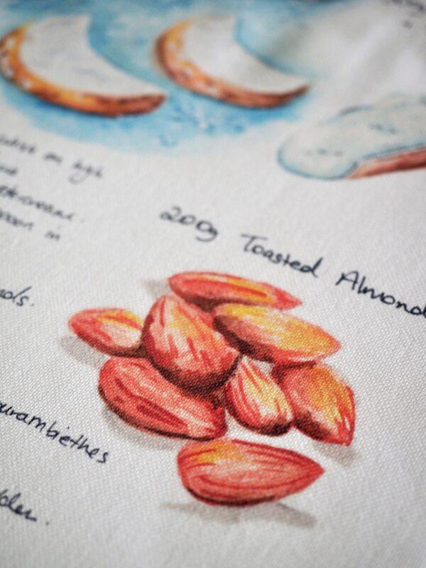 Kourambiethes Tea Towel
